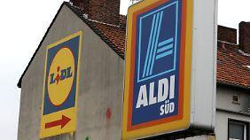Kundenschwund bei Discountern: Aldi und Lidl steuern gegen