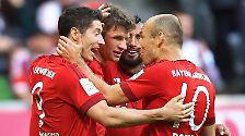 FC Bayern München - VfB Stuttgart 4:0 (4:0)