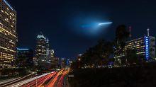 """Lichtsignale am Himmel: """"Ufo"""" versetzt Los Angeles in Angst"""