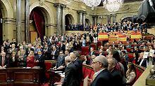 Der Beschluss des katalanischen Parlaments schreckt die spanische Regierung auf.