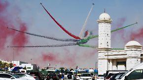 Qatar-Chef attackiert Lufthansa: Dubai setzt sich mit Airshow in Szene