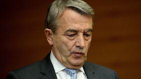 Sieht sich mit neuen Vorwürfen konfrontiert, Ex-DFB-Boss Wolfgang Niersbach.