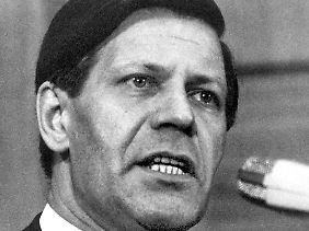 Helmut Schmidt war der zweite sozialdemokratische Kanzler.