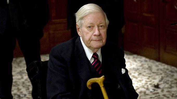 Helmut Schmidt starb wenige Wochen vor seinem 97. Geburtstag in Hamburg.