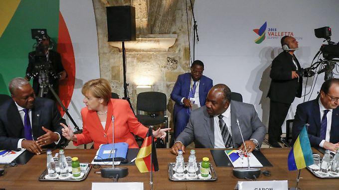 Mehr Geld für Afrika: Die EU-Chefs beschließen einen Nothilfe-Treuhandfonds.