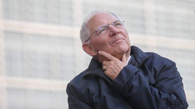 Schäuble: Warum sollten wir nicht darüber reden