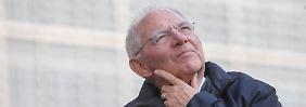 Schäuble warnt: Staatsfinanzen steuern in den Risikobereich
