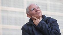 Derzeit sorgt sich Wolfgang Schäuble auch um Großbritannien.