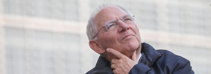 Wolfgang Schäuble: Der Mann, der alles darf