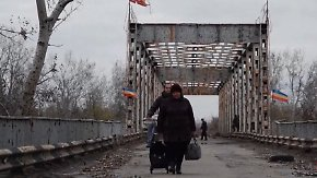 Täglicher Kampf ums Überleben: Donezk gleicht einer zerstörten Geisterstadt