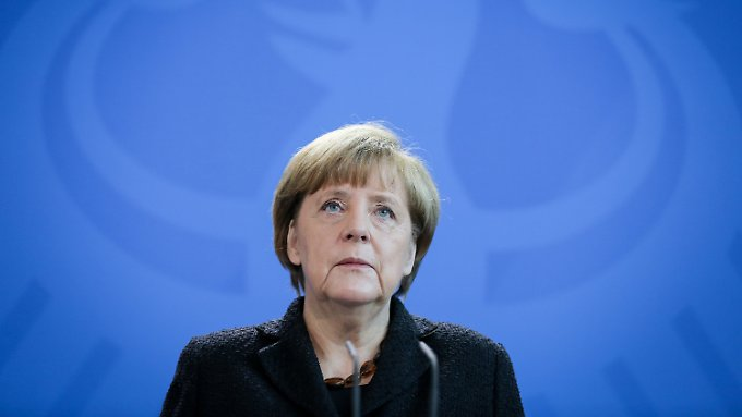 """Merkel zu Terror in Paris: """"Dieser Angriff auf die Freiheit trifft uns alle"""""""