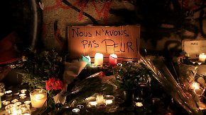 Bedrückende Stille in der Nacht: Paris ist kaum wiederzuerkennen