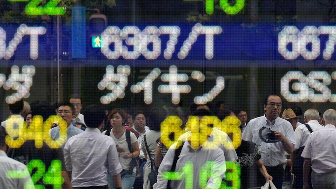 Die Zeiten für die japanische Wirtschaft sind alles andere als rosig.