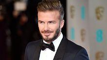 """David Beckham löst den australischen Schauspieler Chris Hemsworth als """"Sexiest Man Alive"""" ab."""