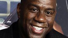 Johnson zog sich 1996 aus dem Basketball zurück.