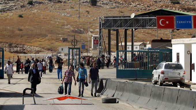 Im September öffnet die Türkei den Grenzübergang in Bab al-Hawa: 75 Prozent der gesamten Grenze zu Syrien sind inzwischen geschlossen.
