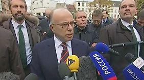 """Cazeneuve zu Einsatz nahe Paris: """"Sieben Festnahmen, drei Personen wurden getötet"""""""