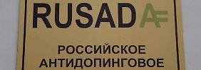 Nicht regelkonform gearbeitet: Wada bannt Russlands Anti-Doping-Agentur