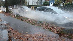 Winter am Wochenende: Starkregen lässt die Woche ausklingen