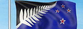Volksabstimmung über Landesflagge: Neuseeländer stimmen für Farn als Motiv