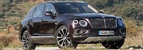 Der Bentley Bentayga will einen neuen Maßstab für Luxus-SUV definieren.