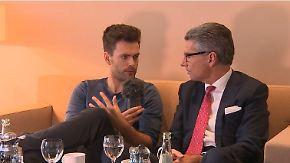 """Ulrich Grillo bei """"Jung & n-tv"""": """"Wir werden nicht in Krisengebiete Waffen liefern"""""""