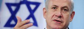 """Nach palästinensischen Anschlägen: Israel kündigt """"aggressive Maßnahmen"""" an"""