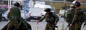 Messerattacken im Westjordanland: Wieder Tote und Verletzte
