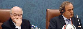 Ethikkommission verhängt harte Strafen: Blatter und Platini werden acht Jahre gesperrt