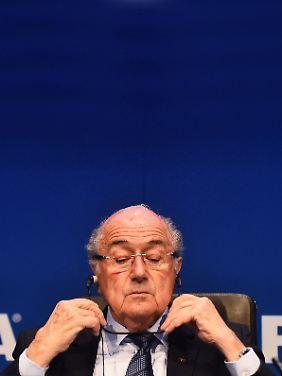 Er ist weg, sein System bleibt: Joseph Blatter.