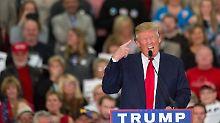 Behauptungen über 9/11: Donald Trump imitiert behinderten Reporter