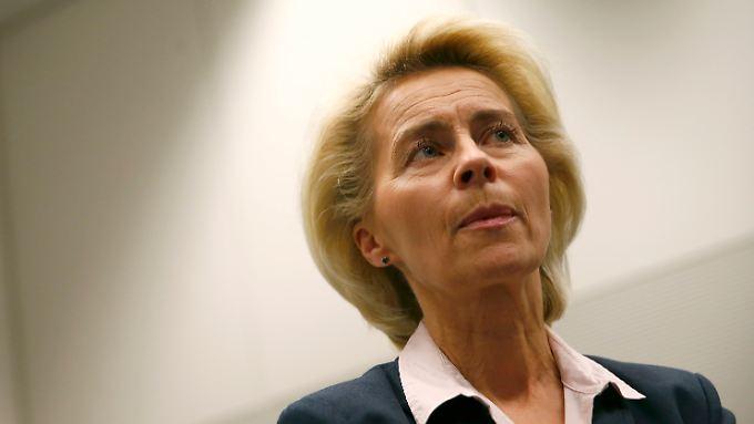 Verteidigungsministerin Ursula von der Leyen will den IS auf ganzer Breite bekämpfen.