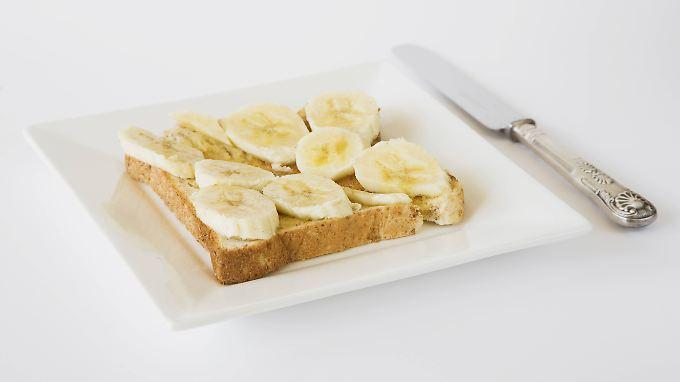 Bananen sollen angeblich glücklich machen.