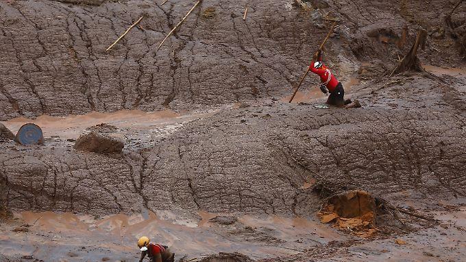 """Fukushima Brasiliens"": Giftige Schlammlawine hinterlässt Geisterstadt"