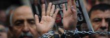 EU-Verhandlungen mit Ankara: Inhaftierte Journalisten appellieren an Merkel