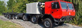 Allrad-Monster aus Tschechien: Tatras Riesen-Raupe setzt Maßstäbe