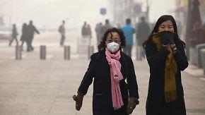 2100 Fabriken geschlossen: Pekinger können nach heftigem Smog wieder durchatmen