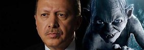 Beleidigung gegen Erdogan: Türke wegen Gollum-Vergleich verurteilt