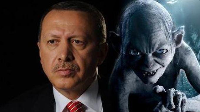 Ein Erdogan-Gollum-Vergleich ist in der Türkei strafbar.