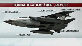 Bundeswehreinsatz in Syrien: Tornados liefern in Echtzeit gestochen scharfe Bilder