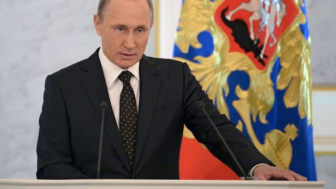 Rede an die Nation: Putin droht der Türkei