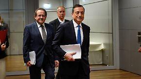 Anleihe-Programm verlängert: EZB-Entscheidung bleibt hinter Erwartungen zurück