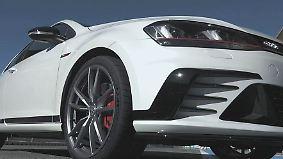 Praxistest auf der Rennstrecke: Neuer VW Golf GTI Clubsport kommt mit dem Extra-Kick