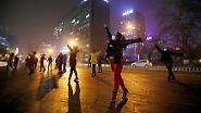 Smog-Alarm in Peking: Alltag in einer vernebelten Stadt