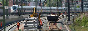 850 Vorhaben in 2016: Bahn erhöht Zahl der Baustellen deutlich