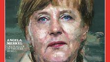 """Angela Merkel darf sich freuen. Oder nicht? Das US-amerikanische Time-Magazin wählt die deutsche Kanzlerin zur Person des Jahres. Damit reiht sie sich ein in eine Folge von Visionären und Kämpfern, aber auch Massenmörder und Rassisten, die über die Jahre die """"Auszeichnung"""" erhalten haben."""