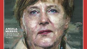 """Kanzlerin schmückt """"Time""""-Titel: Trump ätzt gegen Wahl Merkels zur """"Person des Jahres"""""""