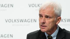 """VW-Chef Müller zur Konzernzukunft: """"Wir stellen Prozessschwächen jetzt sehr konsequent ab"""""""