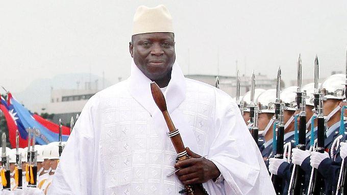 Yahya Jammeh regiert Gambia seit 1994 mit harter Hand.