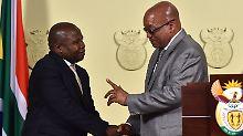 Posse in Südafrika: Finanzminister nach nur vier Tagen entlassen